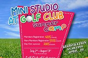 Golf Club of Lebanon Summer Camp by Mini Studio
