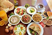 Traditional Lebanese Breakfast