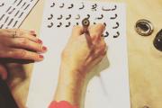 Arabic Calligraphy with Alwan Salma