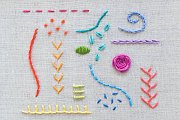 Embroidery with Alwan Salma