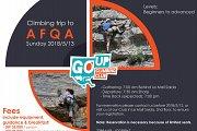 "Climbing trip to ""Afqa"" with GO UP Climbing Club"