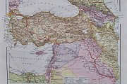 """Vintage Original World Maps From The 1920s"" By FADI YENI TURK"