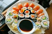 Sushi All'italiana with Live Music by Adriano