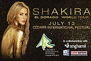SHAKIRA concert in Lebanon! Live at Cedars International Festival