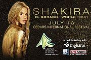 SHAKIRA concert in Lebanon! Live at Cedars International Festival
