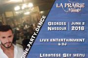 Georges Nassour Live at La Prairie Village