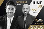 Melhem Zein & Naji Osta Hosted by Platane