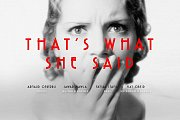 That's What She Said - Hosted by NOW Beirut