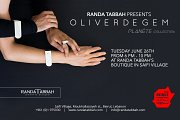RANDA TABBAH presents OLIVER DEGEM