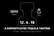 1800 Tequila Tasting