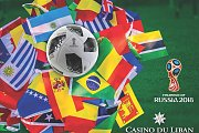 World Cup games at Casino du Liban TERRACE