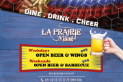 Open Wings & Beer - FIFA World Cup Screening at La Prairie Village