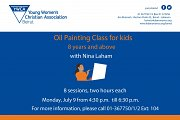 Oil Painting Class for Kids at YWCA