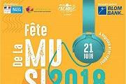 Fete de la Musique 2018 - Beyrouth, Liban - Full Program