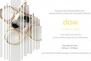 BDW 2018 | DAW Gold Collection Launch