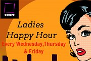 Ladies Happy Hour at Square Rooftop Bar