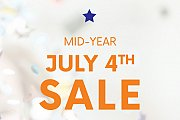 Wesley's Mid-Year July 4th Sale