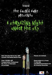 The Cosmic Dome presents A Stargazing Night Under The Sky