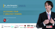 Dr John Demartini  Conference in Lebanon: Accessing your 7 greatest powers - The secret beyond The Secret