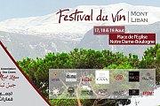 Festival du Vin Mont Liban 2018