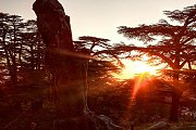 Sunset in Karm El-Mohr with We Are Hikers