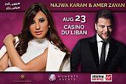 Najwa Karam & Amer Zayan