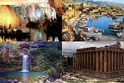 Jeita Grotto - Byblos - Afqa Waterfall - Baalbek with Zingy Ride