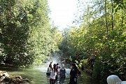 Wet Hiking in Richmaya River with Footprints Club