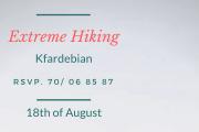 Extreme Hiking with Chronosport