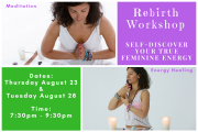 Rebirth: Self-Discover your True Feminine Energy - Tripoli
