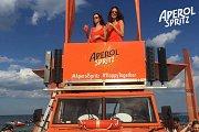 Aperol Spritz Amphibious Car