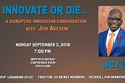 Innovate or Die… A Disruptive Innovation Conversation with 'Jide