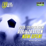 Register Now with 11 Football Pro