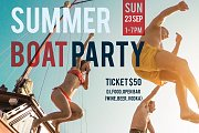 Goodbye Summer Boat Party