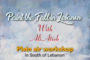 Paint the Fall in Lebanon