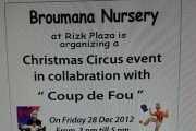 Christmas Event for kids at Broumana Nursery