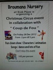 Christmas Event for kids at Broumana Nursery