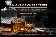 A Night of Characters at Gustave Bouchon