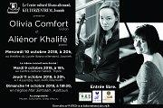 Olivia Comfort (Violin) and Aliénor Khalifé (Piano)