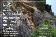 ROCK Climbing Nahr Beirut - Daychonieh