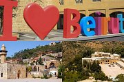 Beirut City Tour - Deir El Qamar - Beiteddine Palace with Zingy Ride