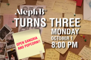 Aleph B Turns Three!