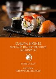 Izakaya Nights at Gordon's Café