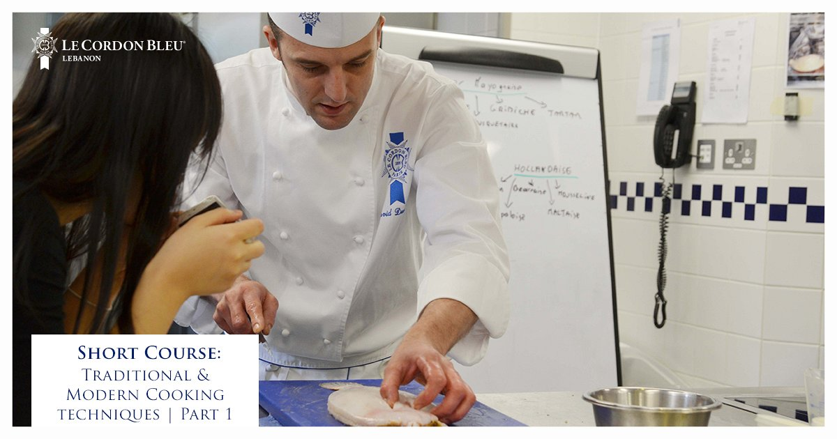 Traditional and Modern Cooking Techniques Workshop at Le Cordon Bleu ...