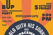 The Beirut Underground Party at The Back Door