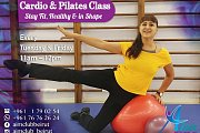 Cardio and Pilates Class at Aim Club Beirut