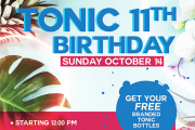 Tonic 11th Birthday Party