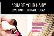 """Share your Hair"" Give Back .. Donate Today"