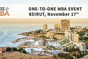 Top International One-to-One MBA Event in Beirut