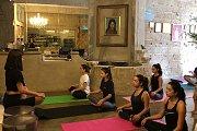 Yoga with Sarah at Afaf